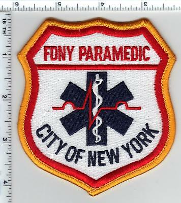 New York City Fire Department Paramedic Larger Shoulder Patch