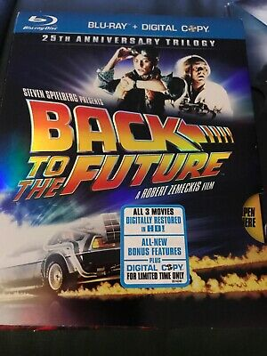 Back To The Future Trilogy 25th Anniversary 1-3 (Blu-ray)