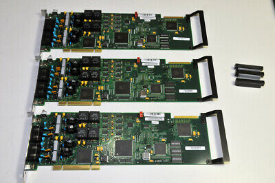 3 Pieces Dialogic D/41JCT-LSWAY Combined Media Board Analog 4-Port   D41JCTLSWAY