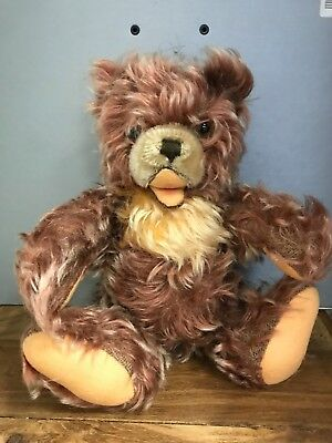 Antiguo Teddy Oso 28 Cm. Buen Estado