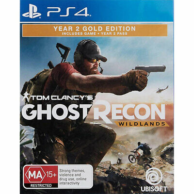 Tom Clancy's Ghost Recon: Wildlands Year 2 Gold Edition PS4 Clancys New Sealed