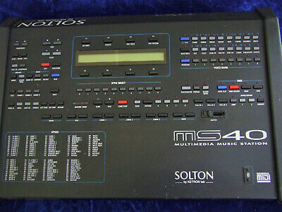 Solton MS 40 Multimedia Music Station  (Expander) gebraucht
