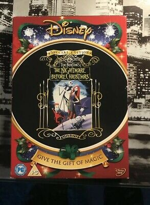 Disney's The Nightmare Before Christmas DVD Christmas Special Edition