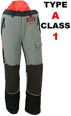 Oregon 295400 Class 1 Type A Front Protection Chainsaw Trousers 20M/S Size Large