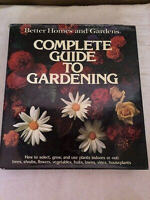 Better Homes and Garden (HB) book Complete Guide to Gardening, Original
