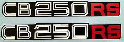 HONDA CB500RS CB250RS SIDE PANEL DECALS