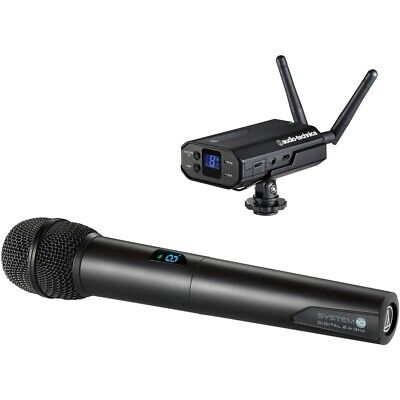 Audio-Technica ATW-1702 System 10 - Camera-Mount Digital Drahtlos Mikrofon