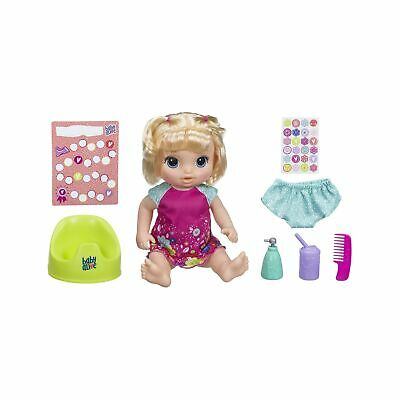 Baby Alive 'Potty Dance Baby' Blonde Straight Hair Doll Set One Size .
