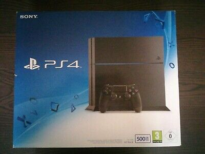 Sony Playstation 4 Console - (PS4 Box) Packaging - boite Vide