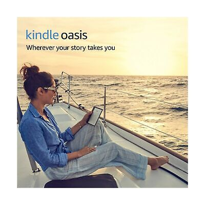 Kindle Oasis - Waterproof, 32 GB, Free 3G + Wi-Fi (Previous Generation – 9th) .