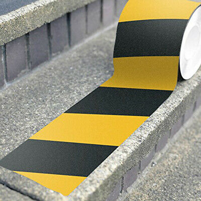 5M Warning Tape Self Adhesive Roll Marking Barrier Safety Danger Caution DIY