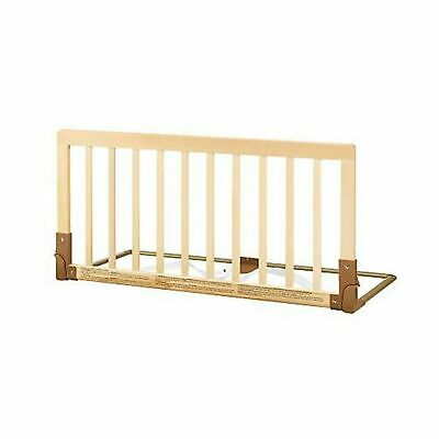 BabyDan Wooden Bed Guard (Natural) .
