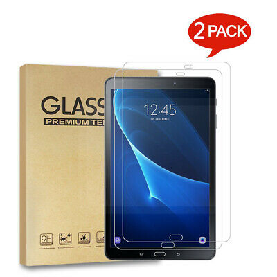 2PACK Tempered Glass Screen Protector Film for Samsung Galaxy Tab A 10.1 SM-T580