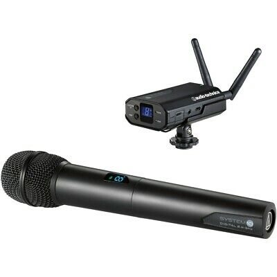Audio-Technica ATW-1702 System 10 - Camera-Mount Digital Kabellos Mikrofon