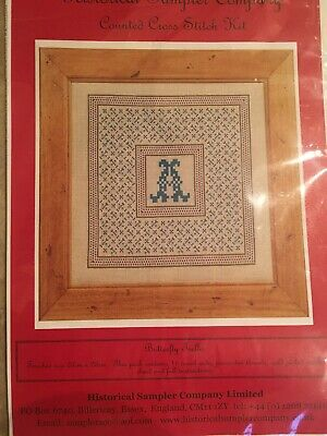 Historical Sampler Company - Counted Cross Stitch Kit ( Butterfly Trellis )