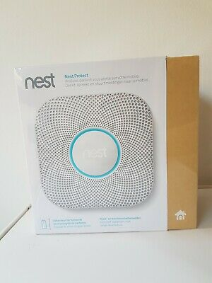 **Brand New** Nest Protect 2nd Gen  detector humo y monóxido france version CO