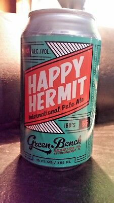 3 - Florida~ Craft Can * Happy Hermit  *Green Bench Brewing
