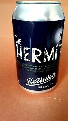 4~Iowa~Limited Craft Beer Can *The Hermit * Reunion  Brewery