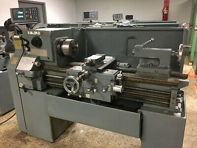 "15"" x 30"" LeBlond Regal Servo Shift Engine Lathe with DRO, tooling, inch/metric"