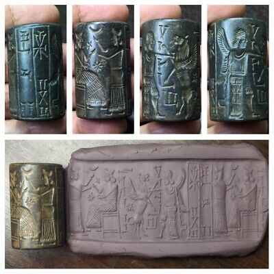 Rarest ancient Sassanian cylinder seal