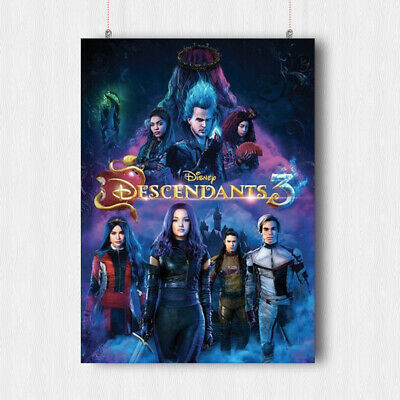 Descendants 3 Poster Movie Film Fantasy Wall Art Print -A4 A3 Size