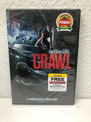 Crawl  2019 Barry Pepper Authentic DVD (BEWARE OF FAKES SOLD)