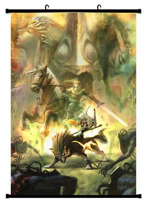 The Legend of Zelda Poster Twilight Princess 3D Framed Lenticular 20x25cm