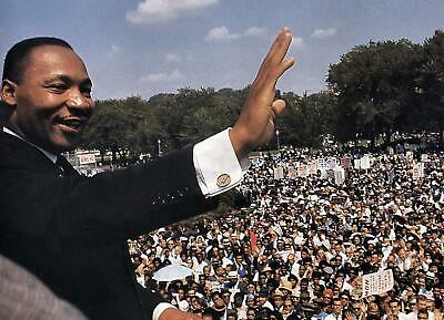 1963 MARTIN LUTHER KING March on Washington PHOTO  (183-c )