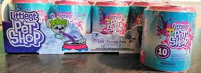 1 can Series 4 THIRSTY PETS 2 Littlest Pet Shop Classic size