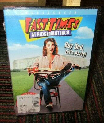 Fast Times At Ridgemont High Dvd Movie, Sean Penn, Phoebe Cates, Jennifer Leigh