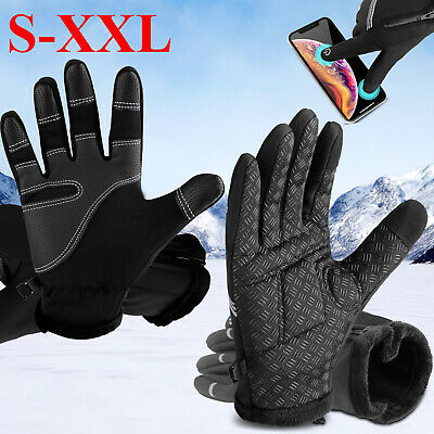 Winter Touch Screen Gloves Ski Snow Windproof Thermal Warm Anti-Slip Men Women