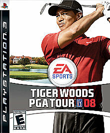 Tiger Woods PGA Tour 08 (Sony PlayStation 3, 2007) VERY GOOD