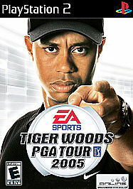 Tiger Woods PGA Tour 2005 (Sony PlayStation 2, 2004) VERY GOOD