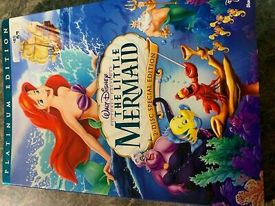 The Little Mermaid - Dvd Size - Slip Cover Only