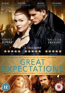 Great Expectations 2012 Period Drama Film Adaptation Jeremy Irvine DVD NEW Seale