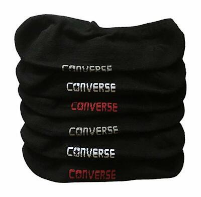 Converse Unisex Black  Pack of 3 Ankle Socks Size 7 to 9 3y-5y