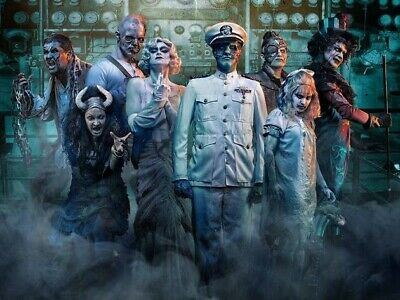 1 Queen Mary Dark Harbor Fast Fright Pass Admission eTicket ANY DAY