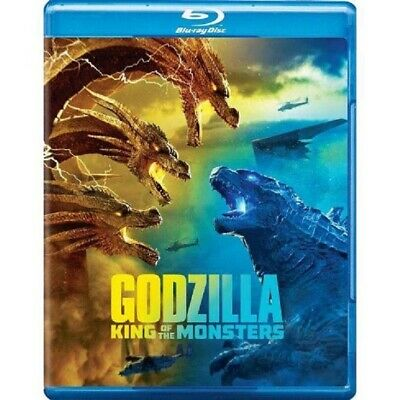 Godzilla: King of the Monsters 2019 Blu-ray new & sealed with slip cover
