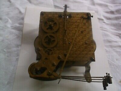 Smiths 4 Hammer 4X4 Mechanism   From An Old  Mantle Clock Working Ref Ivor 99