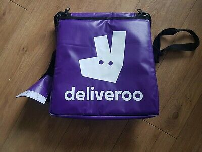 Deliveroo Purple Thermal Bag