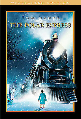 The Polar Express KIDS DVD COMPLETE WITH ORIGINAL CASE & ART BUY 2 GET 1 FREE