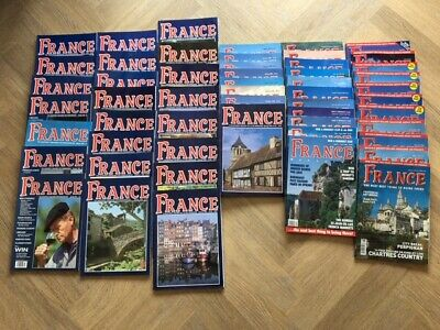 54 France Magazines (  In period Spring 1993 to April 2004 ) , Good Condition