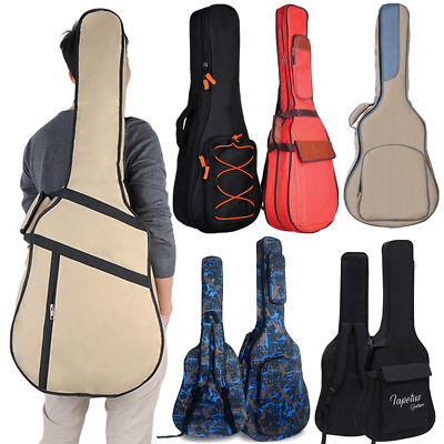 21''-41'' Classical Acoustic Guitar Electric Bass Back Bag Protective Carry Case