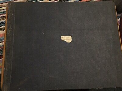 Vintage Ledger 1933 Seed Grain Company Sales Accounts Book Farming Arable Cereal