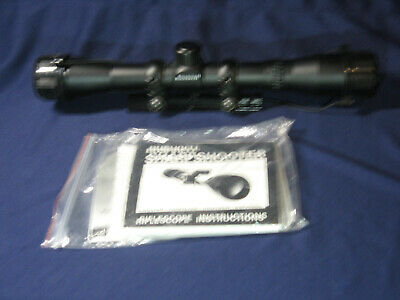 Used Bushnell 3x9x40 Sharpshooter Riflescope with Papers