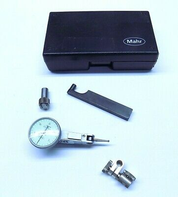 Nice Mahr Mahrtest Mini Dial Indicator Set 801S1