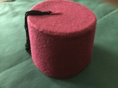 Vintage Fez hat from Egypt 1950s