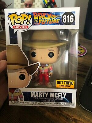 Funko Pop Movies Back To The Future Marty McFly Hot Topic Exclusive Preorder
