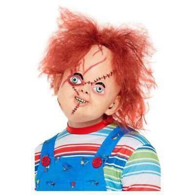 Full Overhead Chucky Mask Adults Childs Play 2 Doll Official Fancy Dress