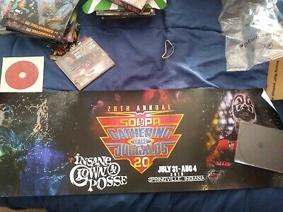 Insane Clown Posse Gathering Poster 3ftX1ft oop GOTJ Exclusive new twiztid icp
